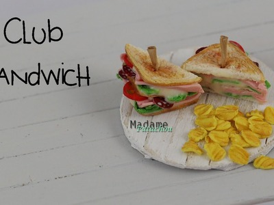 Club Sandwich Tutorial  (Tuto Fimo)