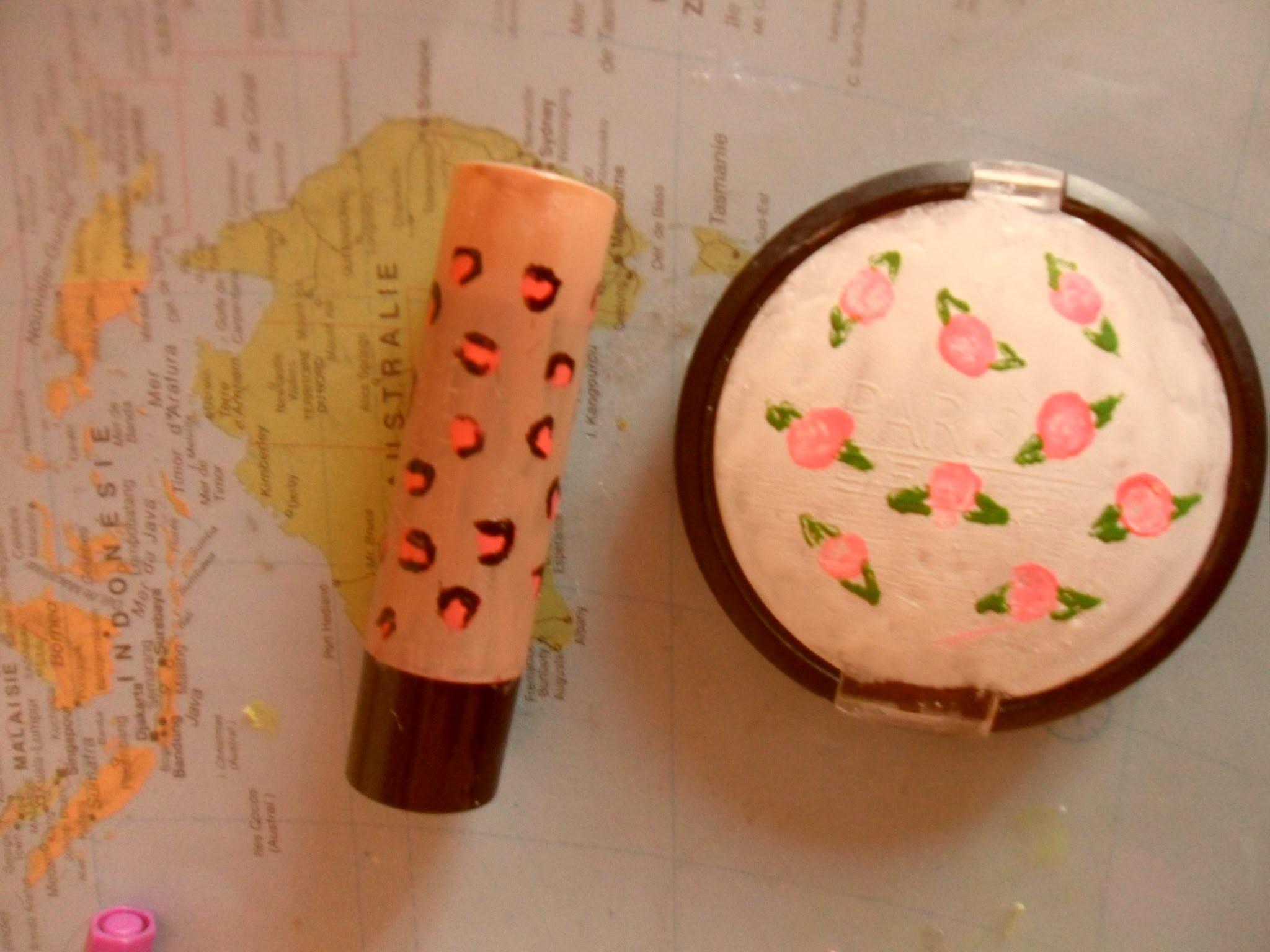 DIY :relookez vos boites de maquillages
