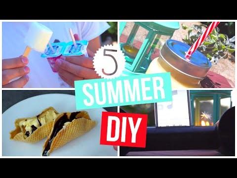 5 SUMMER DIY
