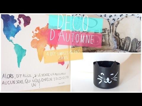 Déco d'Automne | 4 DIY Simples & pas chers