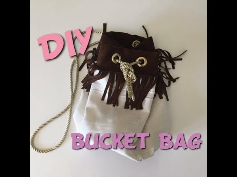DIY bucket bag (sac seau)