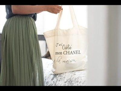 Fashion DIY : Comment faire un tote bag ?