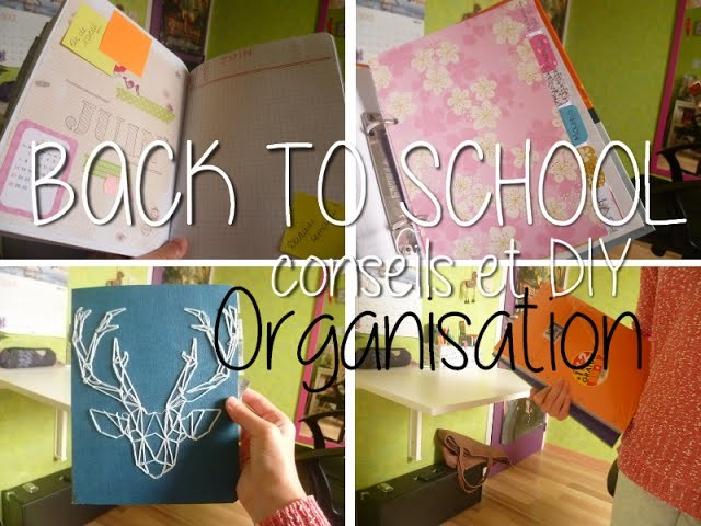 Back to school - DIY & conseils pour organiser ses cours !