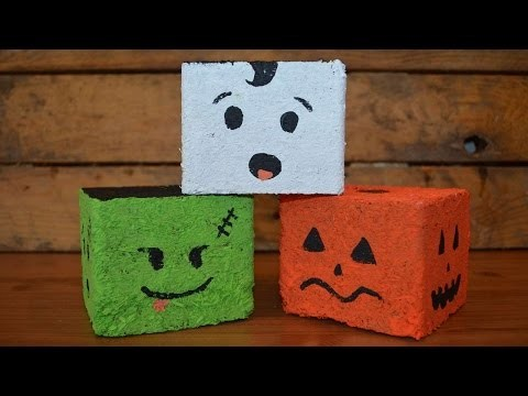 Décorations d'Halloween en bois - DIY Maison - Guidecentral