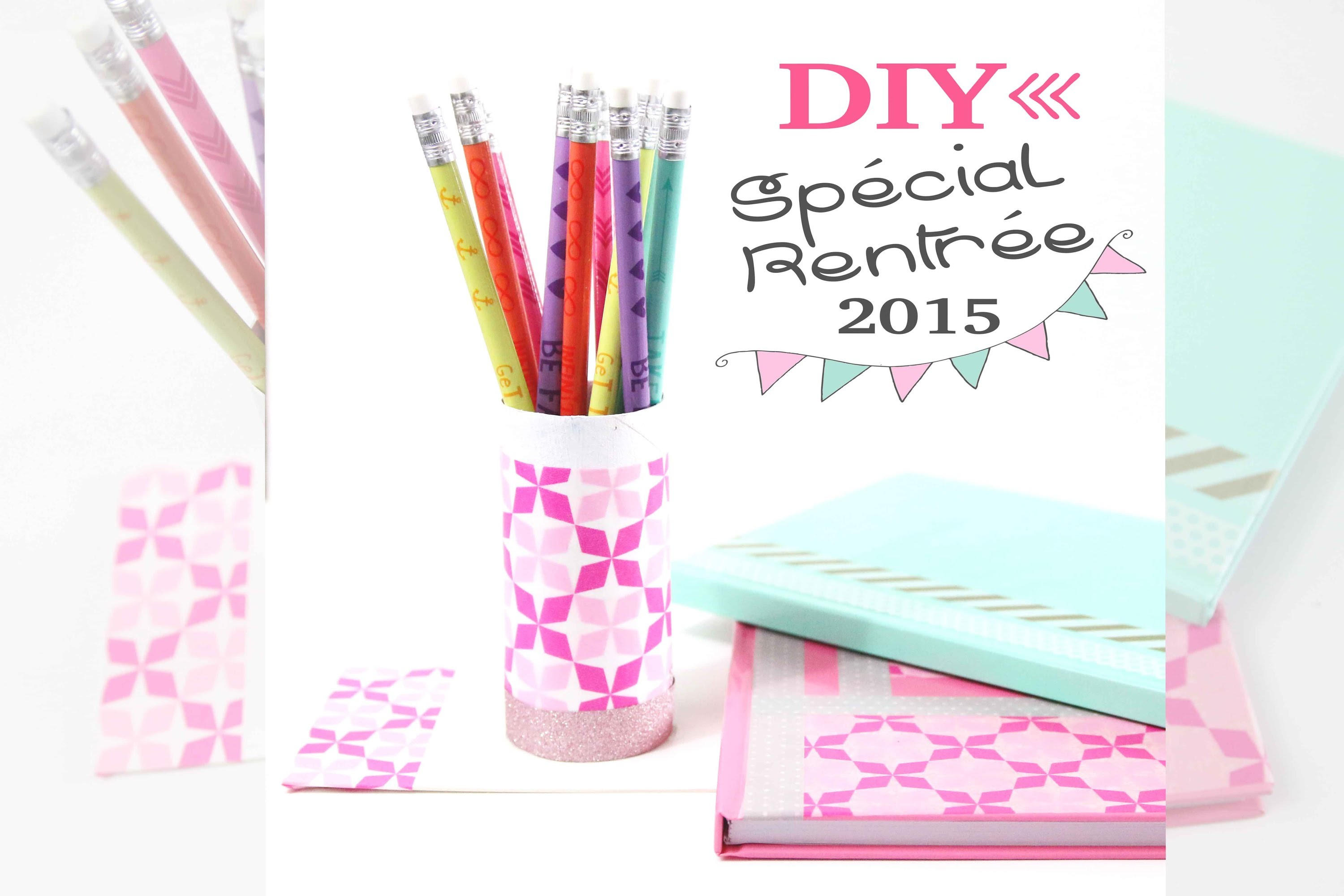 DIY : Back to school.work - Personnaliser son matériel de bureau