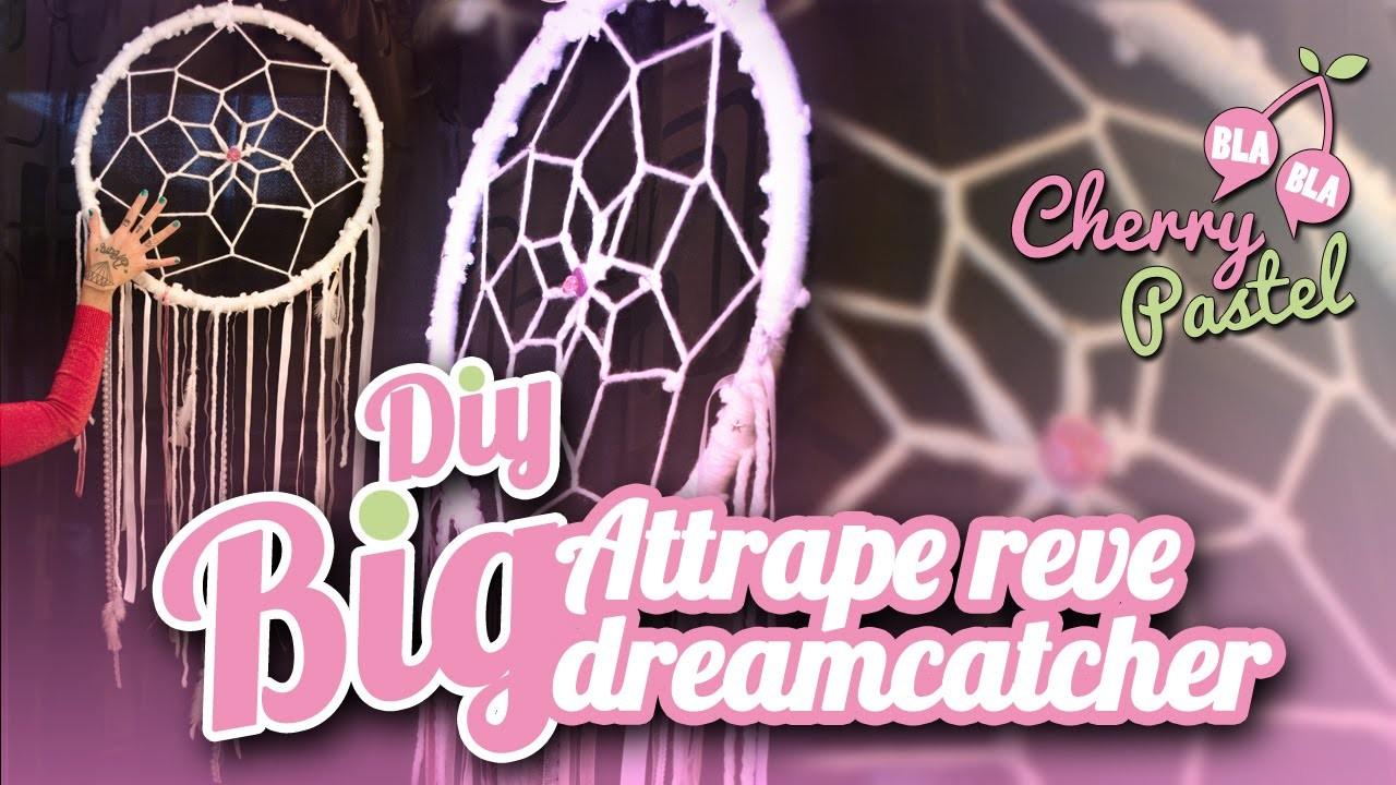 ♡ DIY | BIG ATTRAPE REVE | Tuto dreamcatcher | FR ♡