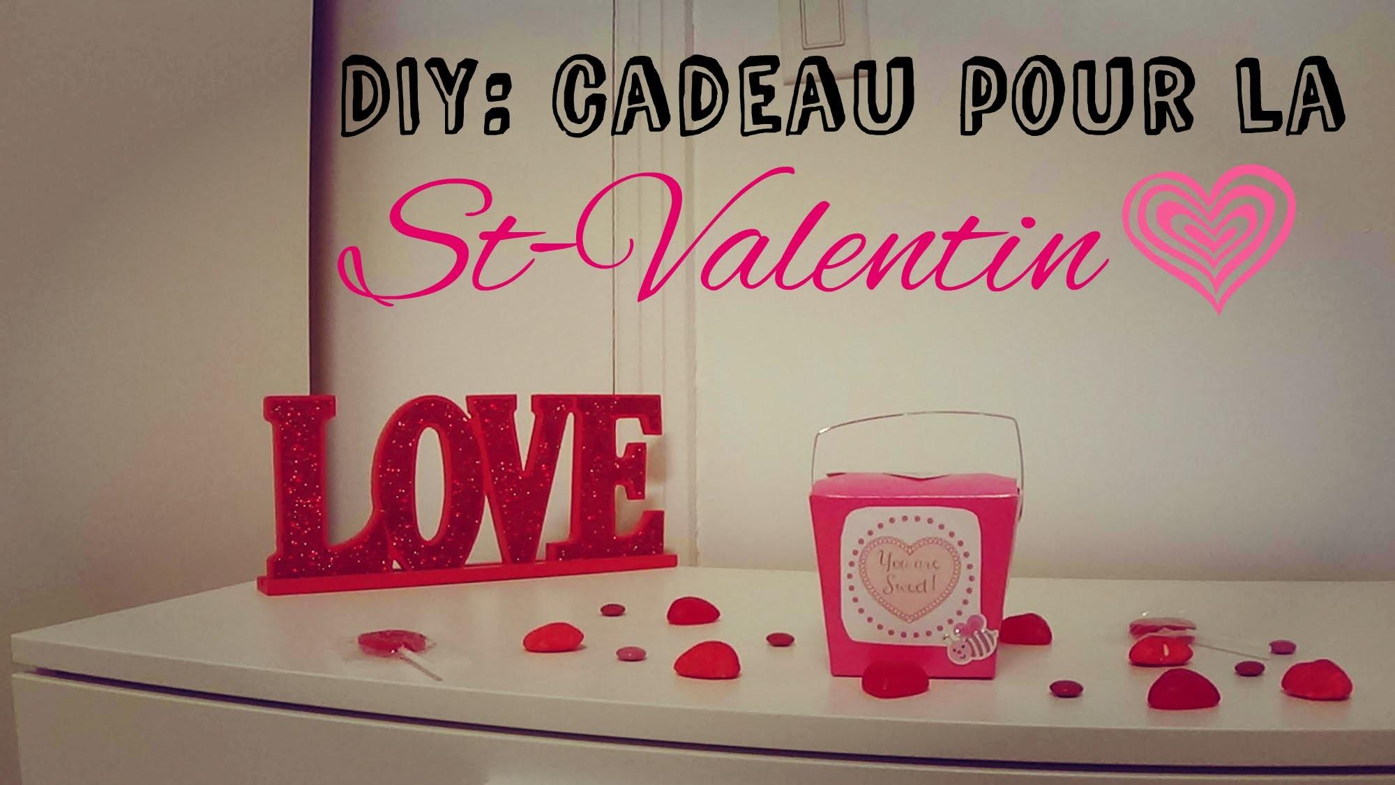 DIY : Cadeau pour la St-Valentin