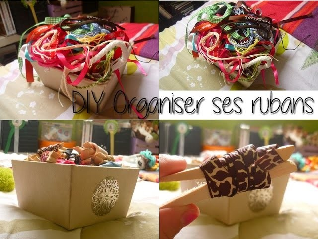 [DIY] Comment ranger ses rubans. How to : Put away your ribbons