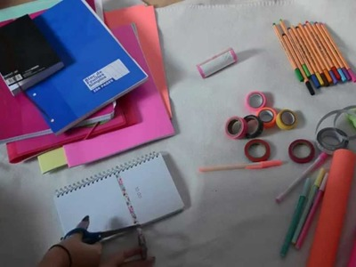 DIY : CUSTOMISER SES FOURNITURES SCOLAIRES | BeYourself