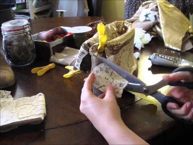 DIY: transformer des bottes simples en boots tendance boho, hippie et bohème