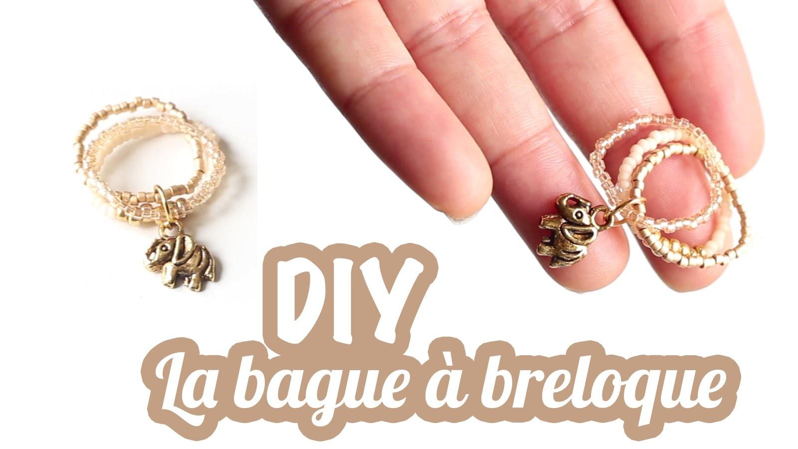 DIY # TUTO La bague à breloque