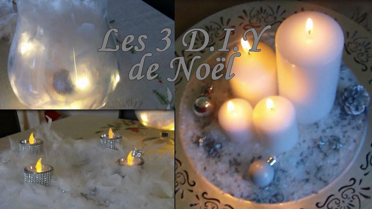 Les 3 D.I.Y de Noël