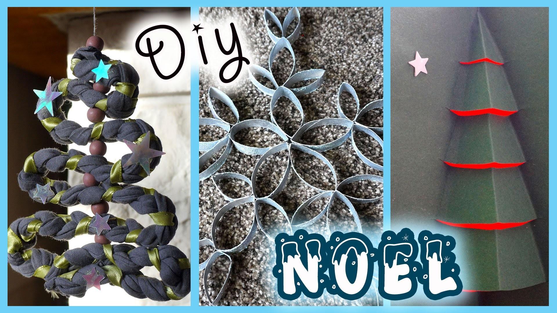 ✨ [Noël #2] : DIY : 3 bricolages de Noël à faire absolument !  - SIDJIE