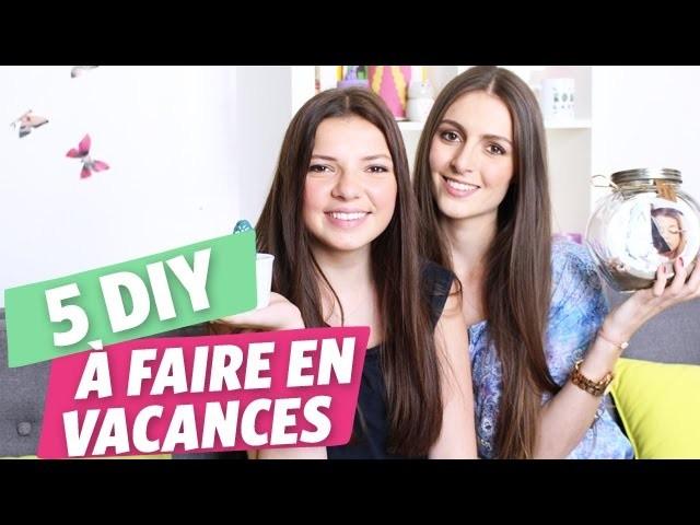 ✿ Vacances : 5 DIY à réaliser cet été par Marine et Clara ✿