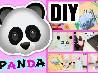 DIY français - Panda Deco Chambre. Room Decor