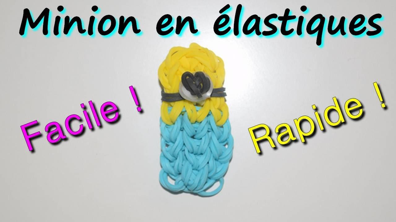 #DIY - Minion en élastiques facile et rapide !