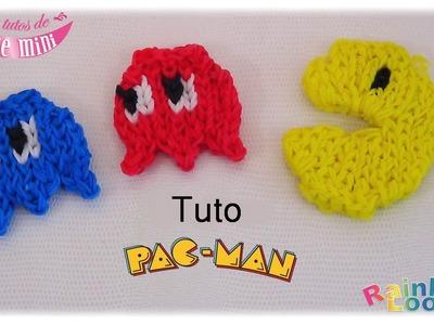 { Tuto }  Pac-Man en élastique Rainbow Loom