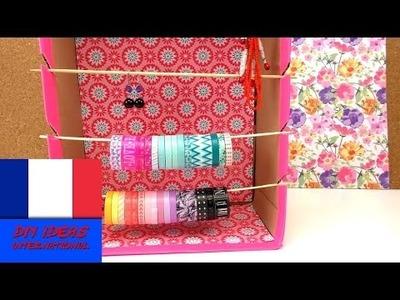 Boîte pour bijoux et accessoires. DIY. Instructions en français