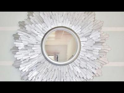 Créez votre miroir design - DIY Maison - Guidecentral