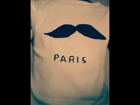 D.I.Y | T-Shirt Moustache