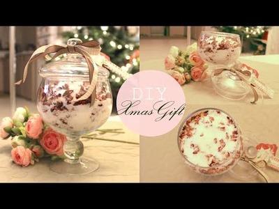 DIY#4 Cadeau -10€: Sel de bain détox, Ylang-Ylang et pétales de roses ♥ (très facile)