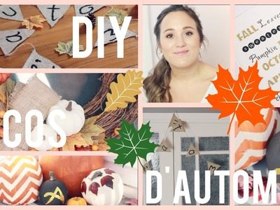 DIY | Décorations d'automne - Faciles & abordables!