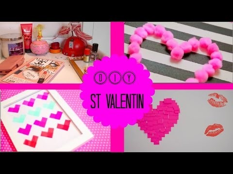 ♡ DIY | St Valentin Decoration Chambre