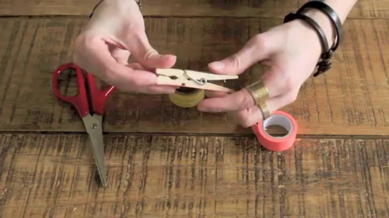 DIY - Un porte-écouteur pour éviter qu'ils s'emmelent !