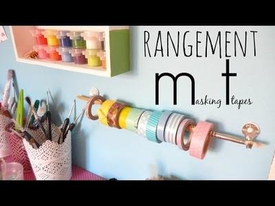 ✄ DIY : un rangement à masking tapes !