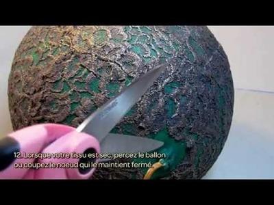 Fabriquez votre lustre en dentelle - DIY Maison - Guidecentral