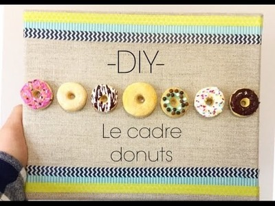 D.I.Y: -Le cadre donuts-