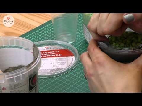 DIY vase en béton