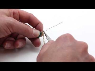 Fifi Jolipois Tutorial 11: Comment monter des perles avec un fil d'argent ou d'or?