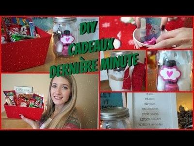 5 cadeaux DERNIÈRE MINUTE DIY | Copain, Amie, Famille, etc