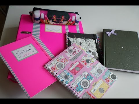 ♡ Back to School- DIY idée personnalisation fourniture