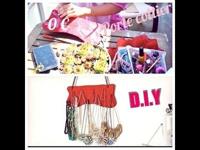 D.I.Y ✂️ Porte collier original à 0 € ✂️