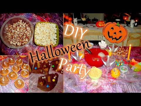 [DIY #1] ~ Trick or Treat {Halloween Party!}