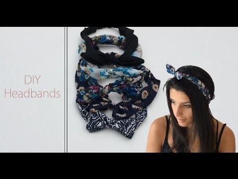 DIY Couture - Comment faire des headbands | Cecile