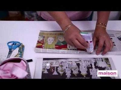 DIY : réaliser des pochettes cadeau avec du papier journal