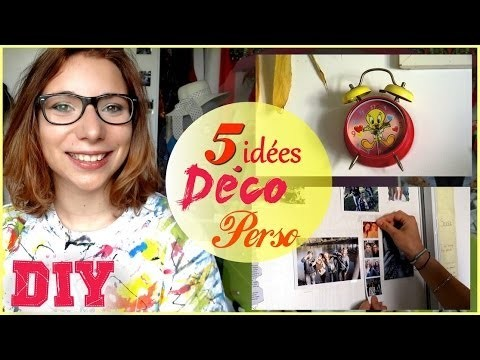 ✄- How To n°8┆Personnaliser sa chambre ! (5 DIY)