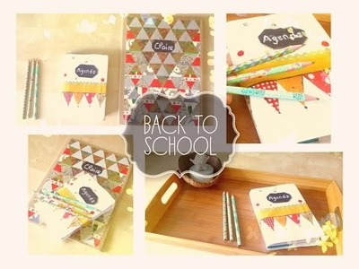 DIY | Back to School : Customiser ses fouritures scolaires - Claire