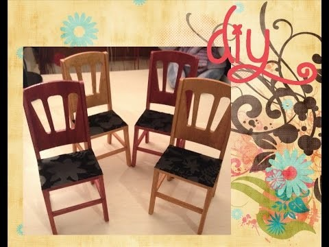 [DIY] Customisation des chaises Minicrea.fr