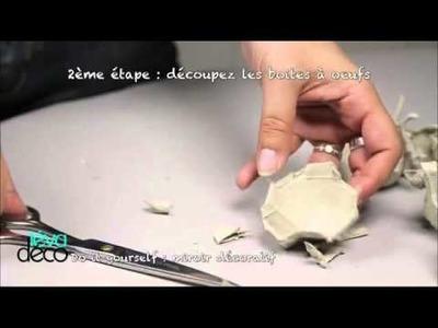 DIY Le miroir décoratif TEVA Déco émission du 30- novembre 2014