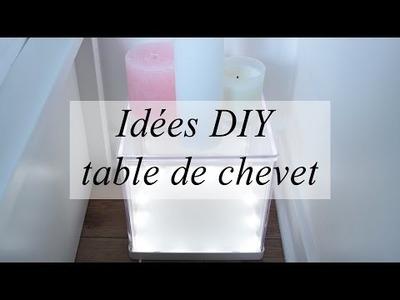 Idées DIY déco :pour des tables de chevet originales (cactus, noël. )