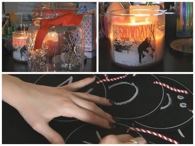 4 décembre ❄ Décoration de ma chambre + DIY !