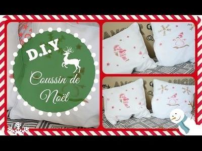 D.I.Y Coussin de Noël :)