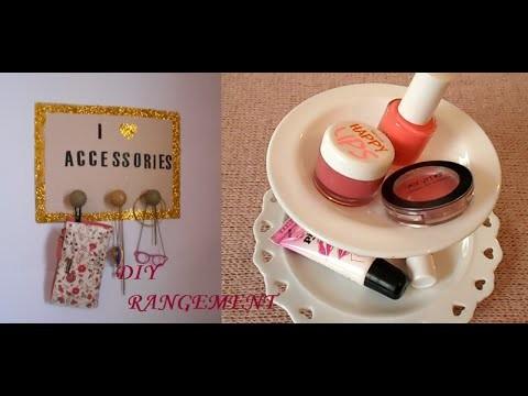 DIY #14 : Rangement Makeup et accessoire #2