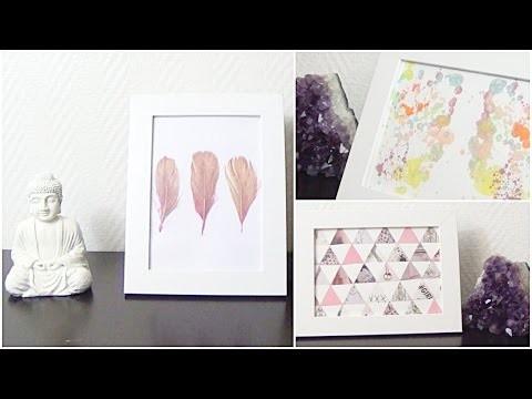 DIY│3 Cadres Déco ▵ Alyssia