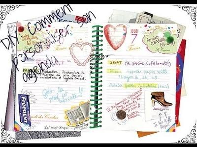 DIY:3 façons de décorer son agenda!!!!
