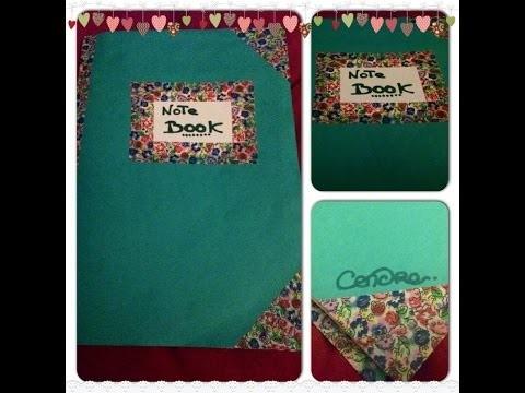 ♡ DIY ♡  ☼ Fabriquer un carnet Facile et rapide! ☼